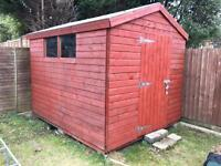 Shed 10' x 8' with 3' door - less than 2 years old
