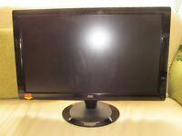 """NOC Large 24"""" flatscreen Pc Monitor mint condition throughout"""