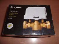 DRAYTON 2 PORT VALVE 22mm MODEL ZA5/679-2 BRAND NEW & BOXED