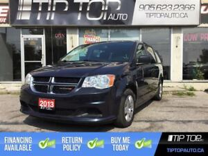 2013 Dodge Grand Caravan SE ** Bluetooth, Low Kms, Stow and Go *
