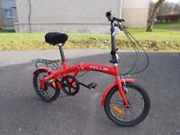 Folding Bike - small adult size.