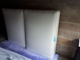 GOOD QUALITY DOUBLE DIVAN BED WITH QUALITY CLEAN MATTRESS AND HEAD BOARD IN YEOVIL