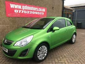image for 2011 (61) VAUXHALL CORSA EXCITE AC. WARRANTY. 1 YEAR MOT. NOT POLO GOLF DS3 AYGO 208 BRAVO