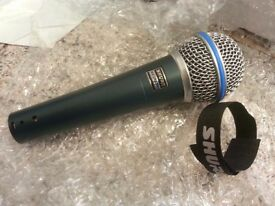 Shure sm58a beta mic. brand new in box.