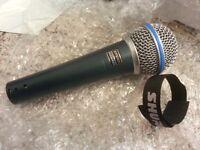 Shure sm58a beta mic. brand new in box.