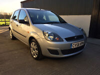 2008 Ford Fiesta 1.4 TDCi Style £30 Tax 12 Months MOT