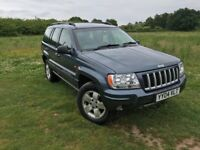 2004 JEEP GRAND CHEROKEE SPORT 2.7 CRD AUTO (NEW MOT) TOW PACK & 4 NEW TYRES! DELIVERY POSSIBLE?