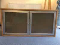 Ikea 2 door cabinet, suitable for floor standing or wall mounting