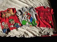 Super Mario boys t-shirts