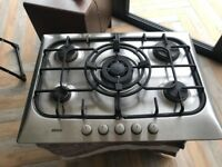 Bosch gas hob with 5 burners