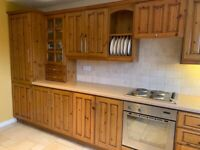 Antique Pine Kitchen plus appliances