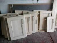 Creme Ash Shaker Style Kitchen Doors £10 each