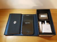 SAMSUNG S7 BLACK UNLOCKED WITH BOX AND ACCESSORIES