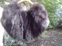*CHARITY SALE* Vintage fur shawl /stole (22)