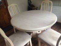 Lovely Table and four chairs £150 Ono