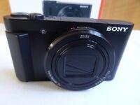 Sony Cybershot HX80 18.2MP 30x Zoom Camera - Black - WiFi