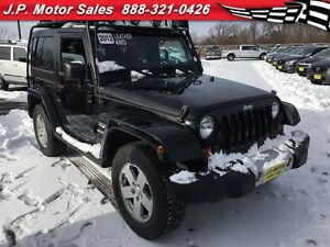 2012 Jeep Wrangler Sahara, Automatic, Leather, Heated Seats, Har
