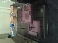 Large hamster cage