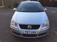2007 Volkswagen Polo 1.4 SE 5dr Automatic Low Mileage @07445775115@