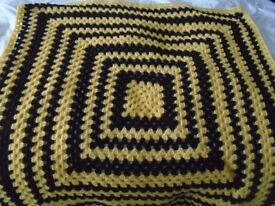 New hand made crochet blanket