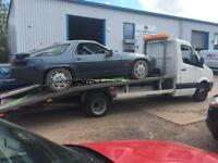 24/7 VEHICLE RECOVERY Transport Collection Delivery Services Local National Scrap Car Uplifts