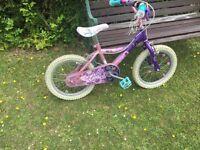 Pink bike wheel size 40cm