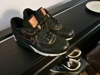 Custom one off Nike Air Max 90s uk 7.5