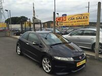 Honda Civic typeR 2009 one owner 50000 full history mot may 17 nice car may px