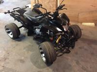QUAD BIKE 250 ROAD LEGAL 110 MILES FROM NEW