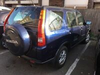 2004 Honda CR-V 2.0 manual petrol crv 5 doors 4 wd stationwagon with ac cheap car or jeep