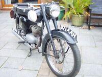 1960 Black BSA Bantem D7 175