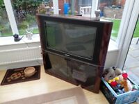 "Phillips 32"" Tv and Stand,Needs Repair"
