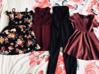 Bundle of girls clothes age 9