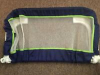 Braun bed guard in a lovely condition fully extendable smoke pet free home