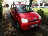 05 Plate Daihatsu Charade, 1.0 litre, 5 Door. MOT End Nov 17. Just £275ono.