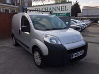 Peugeot Bipper 1.4 HDi 8v Professional Panel Van 3dr£1,845 p/x welcome NEW MOT. GOOD RUNNER
