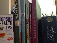 Cookery and health books