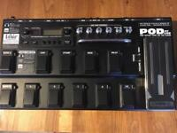 Line 6 Pod XT guitar effects pedal