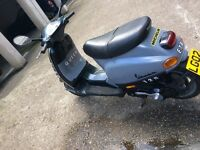 Piaggio Vespa 125 one of a kind ride away today mot logbook keys etc