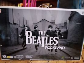 The Beatles Rockband wii Limited Edition REDUCED