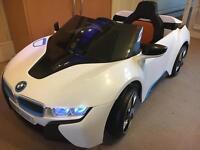 bmw i8 concept ride on electric car