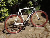 Single Speed City Bike.Dual Rear Hub Model,original cost £325 sell £95.