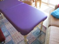 Folding Massage Table, Beauty Salon, Tattoo, Therapy Couch Bed, Facial Treatment or SPA