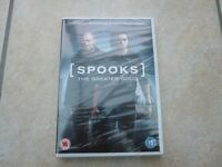 Spooks DVD – brand new and in packaging