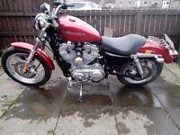 Harley Davidson Sportster XLH883 2004 10,000 miles.