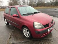 ,,PART EXCHANGE TO CLEAR ,, 51 REG RENAULT CLIO ,, ONLY £350 YES £350
