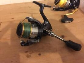 Shimano fishing rod reel lot