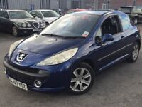 2007 PEUGEOT 207 1.6L DIESEL IN EXCELLENT CONDITION DRIVES GREAT