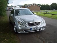 Mercedes E320, fully loaded beautiful executive car