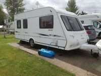 5 birth compass corona 505 2007 tourer with extras including awning